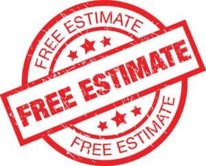 Free Estimate Stamp