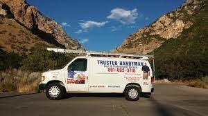 Trusted Handyman Service Van